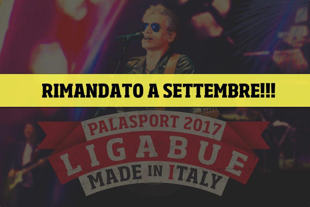 Ligabue interrompe il Tour Palasport 2017: info e rimborsi per i nuovi live di settembre-ottobre e le vecchie date